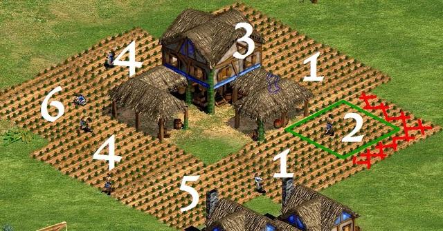 Khi ruộng đã được khai thác gần vạn kiệt thì bạn hãy nhấn chọn số mà bạn đã đặt trước đó để ruộng không bị cháy