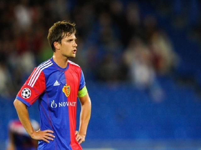 Valentin Stocker đang là tiền vệ cánh trái ở FC Basel