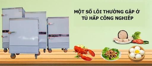 Trong quá trình sử dụng, tủ hấp công nghiệp thường gặp một số lỗi